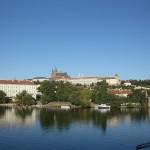 Blick auf die Prager Burg und den Veitsdom