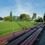 Hauptplatz der Sportanlage